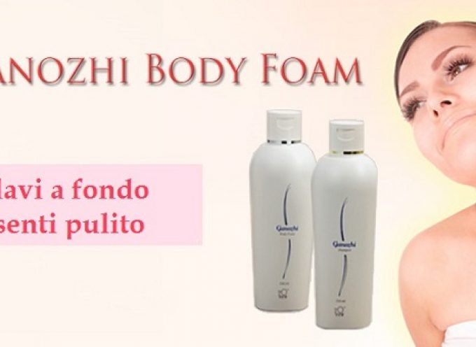 Bagnoschiuma al Ganoderma lucidum: Ganozhi body foam