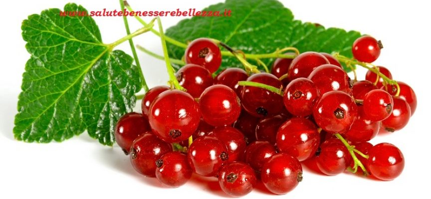 Ribes Ribes Rubrum Salute Benessere Bellezza